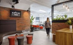 Amicus #officefitout Victoria. #receptionspaces