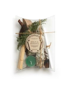 wealth and abundance ritual kit Patchouli Essential Oil, Smudge Sticks, Witch Aesthetic, Book Of Shadows, Witchcraft, Wiccan, Smudging, Diy Gifts, Projects To Try