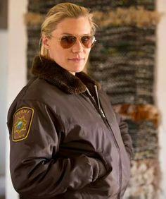 Sheriff Deputy MAKE A MOVE BOY! YA! Robert Taylor Longmire, Walt Longmire, Vic Moretti, Longmire Tv Series, Craig Johnson, Katee Sackhoff, Fur Collar Jacket, Great Tv Shows, Classic Tv