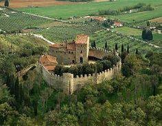 Montegualandro in Umbria, Italy
