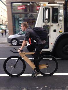 Resultado de imagem para wood bıke #bicyclehumor
