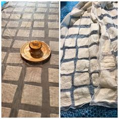 Making a nuno felted scarf with the JUMBO Palm Washboard felting tool from HeartFelt silks