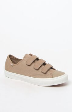 Hooked on Twill Prison Issue Cornstalk & Blanc Shoes that I found on the  PacSun App
