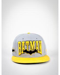 New Era Word Mark 'Batman' Snapback Hat