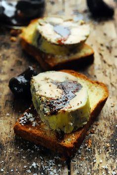 Dernière idée de foie gras avant… Foie gras roulé aux figues confites ! Et petite revue de détails d'autres idées recettes…