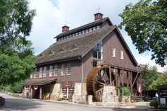 There's no place quite like the Ye Olde Mill in Utica—where you can see how Velvet Ice Cream is made, take a free tour of the mill and try delicious flavors of ice cream you won't find anywhere else. It is located at 11324 Mt Vernon Rd., Utica, OH 43080 Tahiti, Ice Cream Factory, The Buckeye State, Buckeye Nut, Road Trip Destinations, Day Trips, Weekend Trips, Weekend Getaways, The Good Place