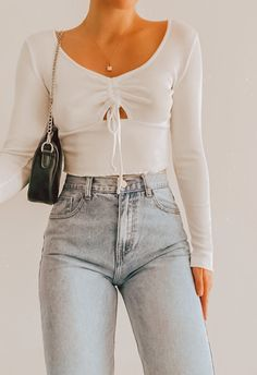 Glamouröse Outfits, Teen Fashion Outfits, Retro Outfits, Girly Outfits, Look Fashion, Fall Outfits, Teenage Outfits, Fashion Fall, Street Fashion
