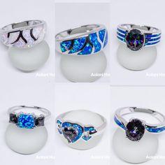 Hawaii Surf, Hawaii Wedding, Mosaic, Sapphire, Rainbow, Rings, Jewelry, Rain Bow, Rainbows