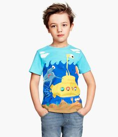 H&M T-shirt with Printed Design $4.95