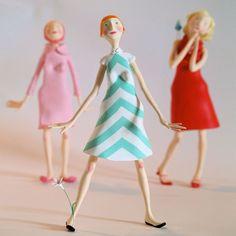 Как сделать куклу из папье маше?