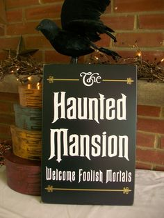 The Haunted Mansion...
