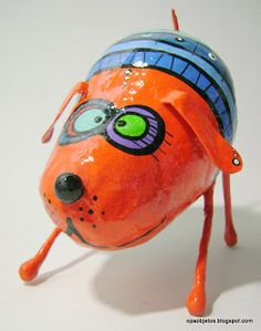 paper mache objects and cartapesta