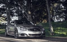 Download wallpapers Infiniti G37, tuning, Vossen Wheels, japanese cars, supercars, Infiniti