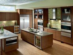 Sub Zero kitchen appliances