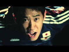 ▶ adidas サッカー日本代表新ユニフォーム 60秒CM - YouTube