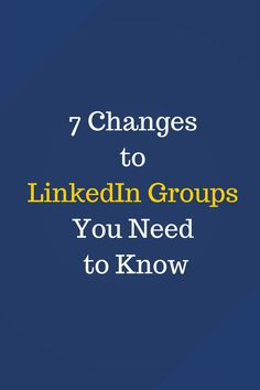 Did you know LinkedIn has made updates to LinkedIn groups? Check out this summary of what is changing