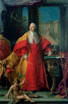 Portrait of Senator Abbondio Rezzonico, 1766 by Pompeo Batoni (Italian 1708–1787)
