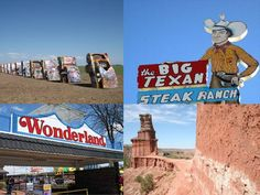 west texas roadside attraction | Route 66 Amarillo Texas Attractions