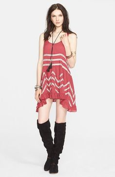 Free People Lace Trim Tunic available at #Nordstrom