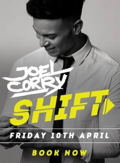 Geordie Shore's JOEL CORRY LIVE! at Loop Bar on Friday, 10th April 2015. Events in bars and nightclubs in London - GuestlistSPOT.com.