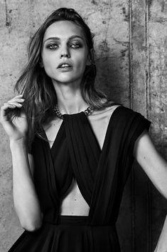 sasha pivovarova for saint laurent resort 2014   visual optimism; fashion editorials, shows, campaigns & more!