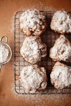 snowy scones