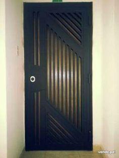 Home Gate Design, Door Design, Wrought Iron Doors, Gate House, Grill Design, Door Gate, Woodworking Basics, Steel Doors, Entrance Doors