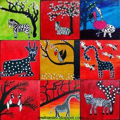 Tingatinga er en farvestrålende afrikansk malestil, opkaldt efter retningens mester, den gamle Edward Said Tingatinga fra Dar Es Salam i ...
