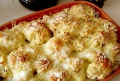 ideas for cheese soup cauliflower Baked Cauliflower, Cauliflower Recipes, Roasted Vegetable Recipes, Food Porn, Cheese Soup, Russian Recipes, Saveur, Main Meals, Casserole Recipes