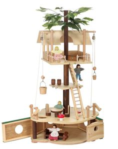 Tumble Treehouse Basic Tree House Toy Set Maxim - Blueberry Forest Toys