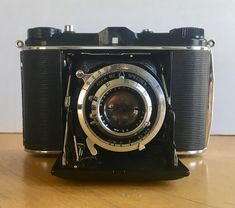 Vintage Ansco Speedex 120 Roll Film Camera with Leather Case for Display and/or Repair 1950's