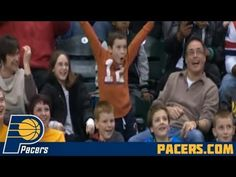 Kid Shows Off His Dance Moves at a Basketball Game--- This kid does not quit, he kills it