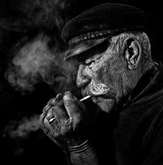 #old dailor #cigarette #captain #sea wolf