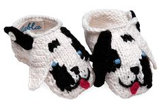 Dalmatian Booties on OneKingsLane.com