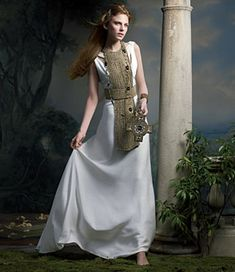 Medieval celtic wedding dresses on pinterest medieval for Renaissance inspired wedding dress