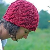 Ripple cable hat - via @Craftsy