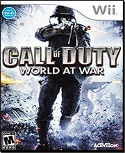 Wholesale Video Game Call of Duty: World at War Nintendo Wii, $29,99