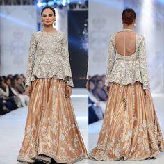 The coveted house of #saniamaskatiya at #pfdc bridal week 2016. Totally #inlove with this mesmerising outfit‼️