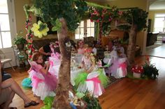indoor fairy party