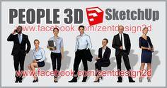 PEOPLE 3D SketchUp Part. 5