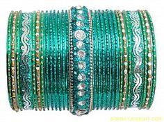 beautiful turquoise blue green diamond bangle