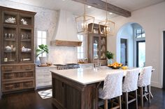 Old Seagrove Homes Blog - Old Seagrove Homes Kitchen Cabinets Decor, Cabinet Decor, Kitchen Redo, New Kitchen, Cabinet Ideas, Kitchen Ideas, Kitchen Island, Storage Cabinets, Wood Cabinets