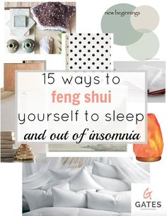 How to feng shui yourself to sleep | GatesInteriorDesign.com