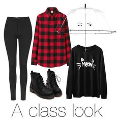 """A classic look"" by musa-do on Polyvore featuring Topshop, Uniqlo and Kate Spade"