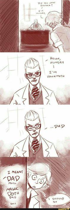 Dadmoth confirmed