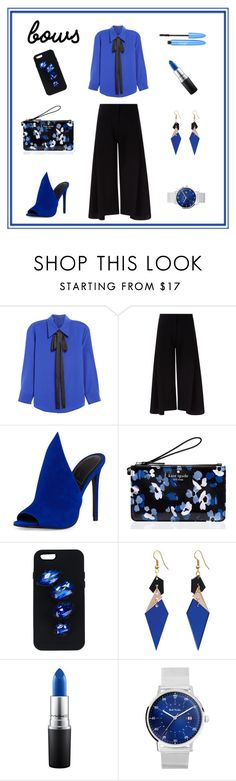 """bows 💙"" by dharshanaarun ❤ liked on Polyvore featuring Marc Jacobs, Victoria, Victoria Beckham, Kendall + Kylie, Kate Spade, STELLA McCARTNEY, Toolally, MAC Cosmetics and Paul Smith"