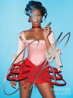 Rihanna on CR Fashio