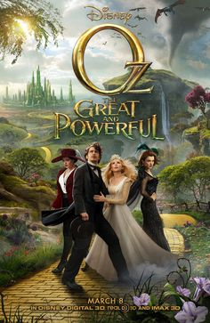 Oz The Great and Powerful, Official Full Movie Trailer Released