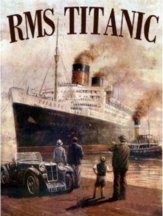 Titanic in Colour