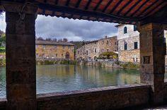 Bagno Vignoni (explored)...from Il loggiato di Santa Caterina..  Contact us and ask for your stay! http://www.loggiato.it/en